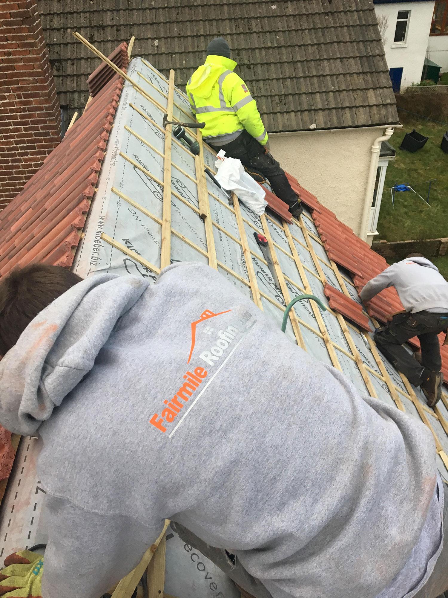Roofing Portfolio 187 Fairmile Roofing Edinburgh