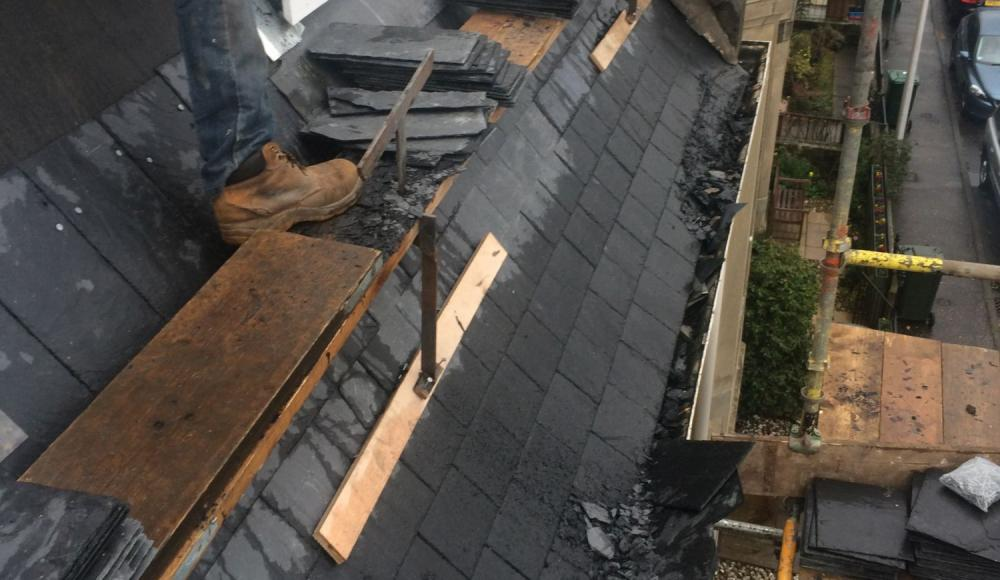 Complete strip and re slate
